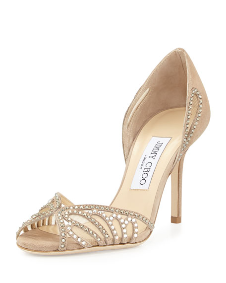 Jimmy Choo Kamba Embellished Pumps free shipping brand new unisex discount shop discount high quality best store to get sale online ebay NP8ux