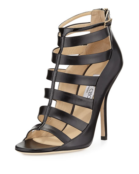 latest collections online Jimmy Choo Fathom Cage Sandals hot sale for sale geniue stockist cheap online buy cheap 100% authentic 0SNVpCv