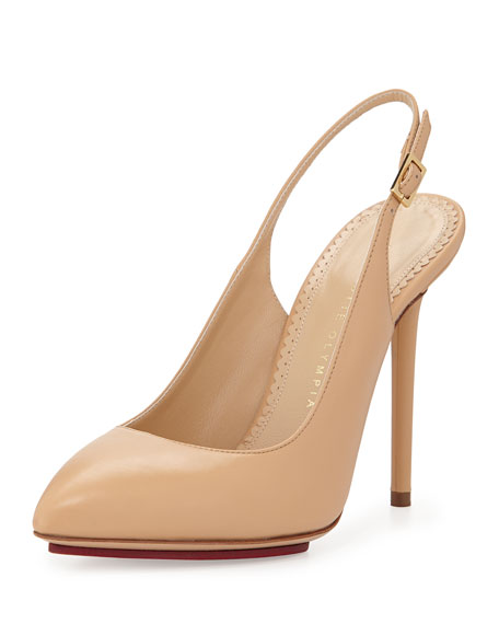 Sast Online Charlotte Olympia Leather Pumps Cheap Best Prices t5nOFxDsT