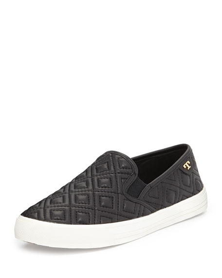 2a4c4044d86f Tory Burch Jessie Quilted Slip-on Sneaker