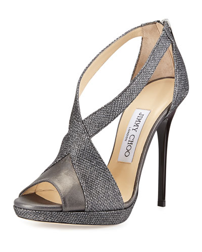 Vision Glittery Lam?? Platform Sandal