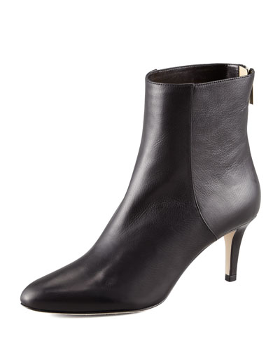 Brody Leather Ankle Bootie