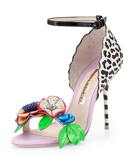 47ee79de8e96 Sophia Webster Lilico Floral Jungle Sandal