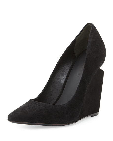 Alexander Wang Velvet Pointed-Toe Pumps buy cheap browse cheap sale big discount outlet tumblr buy for sale zm6l1hw5