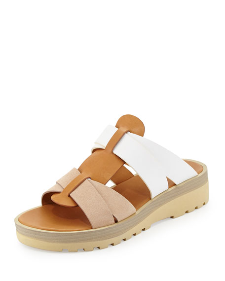 pay with visa cheap price low price cheap online See by Chloé Multistrap Colorblock Sandals 2014 unisex cheap online for cheap for sale outlet 100% guaranteed SuYq1