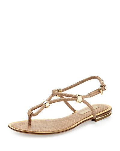 Hartley Snake Thong Sandal