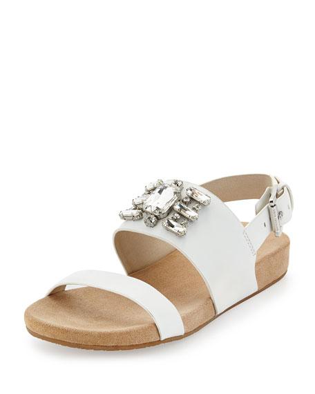 Luna Sandal White Luna White Crystal Luna Sandal Crystal Crystal Optic Sandal Optic odBtQrCxsh