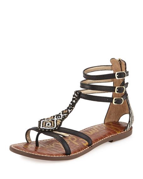 d206a08a9 Sam Edelman Giselle Beaded Gladiator Sandal
