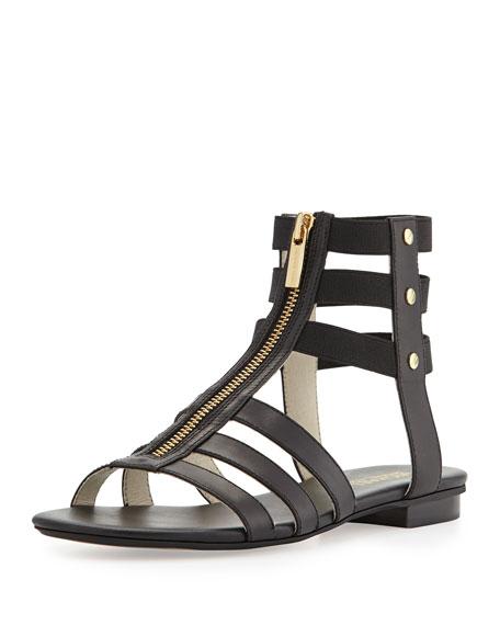 d8f7fcb24b9 MICHAEL Michael Kors Codie Leather Gladiator Sandal