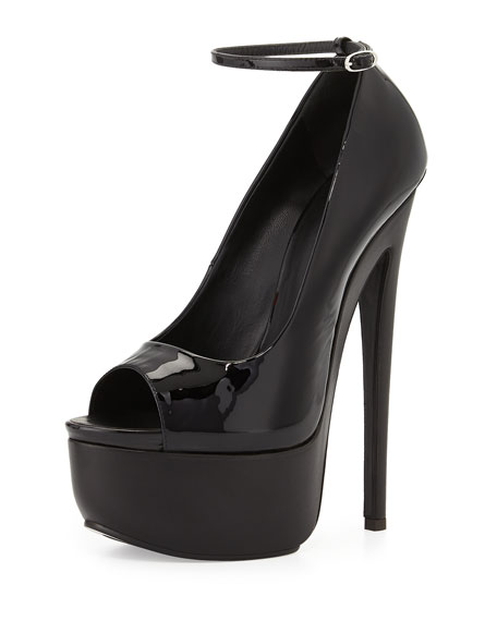 sale the cheapest Giuseppe Zanotti Peep-Toe Ankle Strap Pumps sale very cheap buy cheap outlet locations buy cheap popular buy cheap very cheap 8iAgBDD0