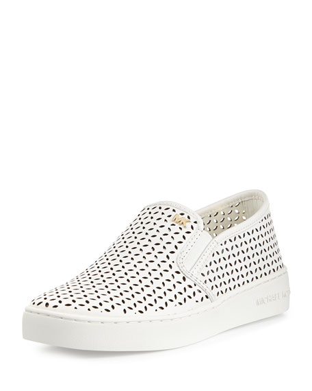 5cc7546842d68 MICHAEL Michael Kors Olivia Perforated Slip-On Sneaker