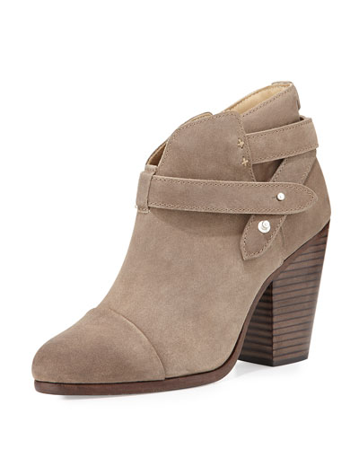 Harrow Suede Ankle Boot, Stone