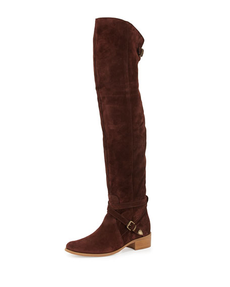 b24c7d88f6e4f7 Charles David Gianna Suede Over-the-Knee Boot