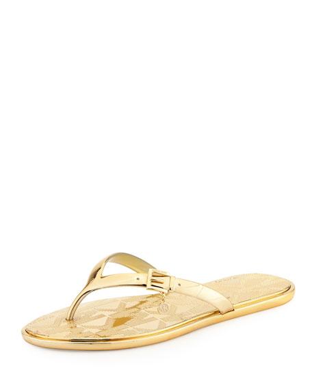 239df84287e79 MICHAEL Michael Kors Emory Buckle Flat Thong Sandal