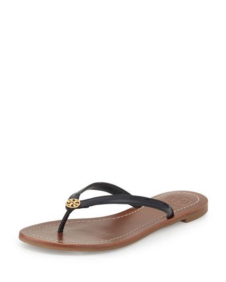 f2e0f2dc8f5f Tory Burch Terra Patent Thong Sandal