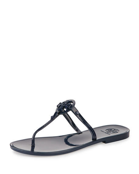 048deae8a Tory Burch Colori Logo Jelly Flat Thong Sandal