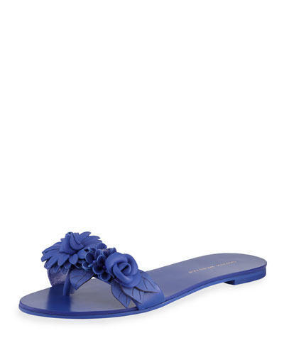 Lilico Floral Slide Sandal, Electric Liberty