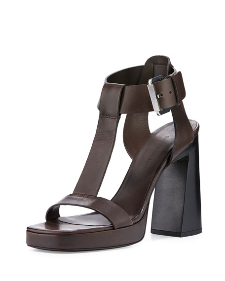 Costume National Leather Sandals I8BLuTIGK