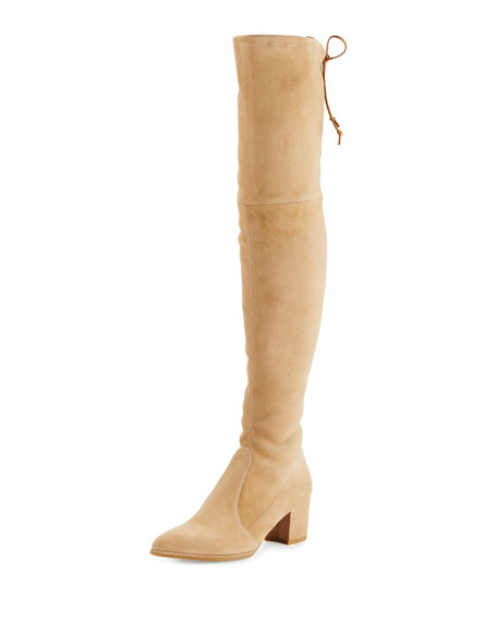 a74a04a1c80 Stuart Weitzman Thighland Suede Over-The-Knee Boot