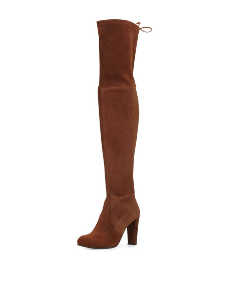 5b9256137fc Stuart Weitzman Highland Suede Over-The-Knee Boot