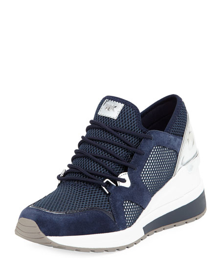 Scout Mesh Knit Wedge Trainer Sneaker Admiral