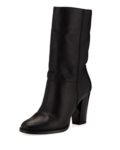 Music Leather Ankle Boot