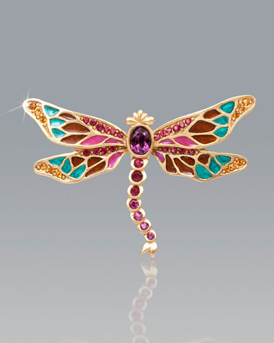 Breea Petite Dragonfly Pin