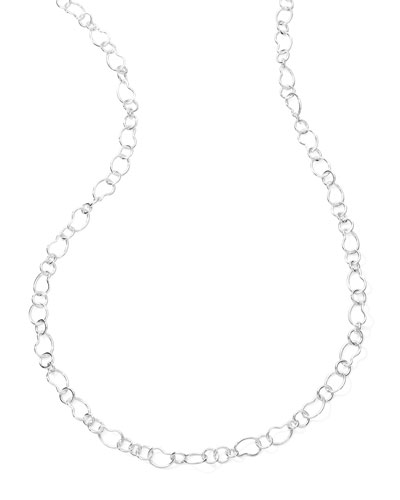 Classic Sterling Silver Layer Chain Necklace 41.5