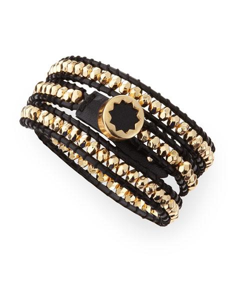 Karma Beaded Wrap Bracelet