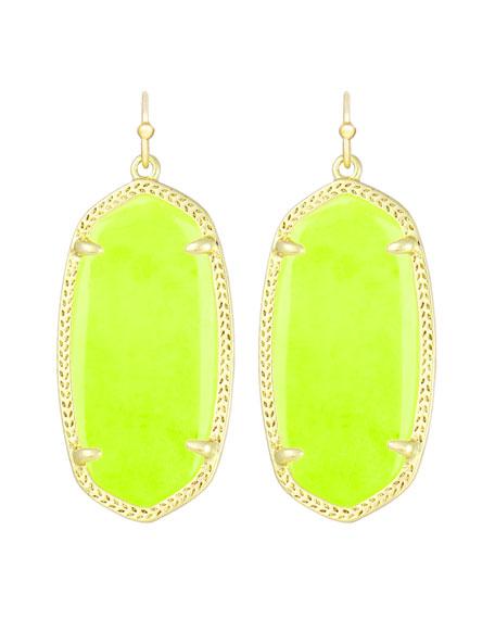6f583525ed1a4 Elle Earrings Neon Yellow