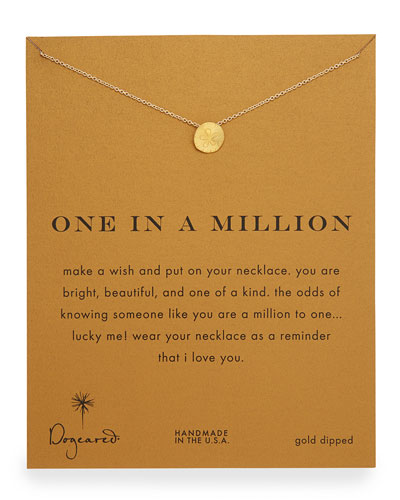 One in a Million Gold-Dipped Necklace