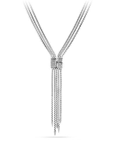 Confetti Drop Necklace with Diamonds
