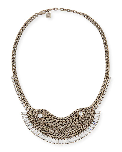Lilith Crystal Chain Necklace