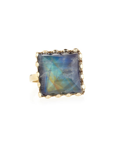 14k Gold Mesmerize Square Ring