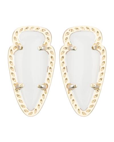 Skylette Pearlescent Stud Earrings