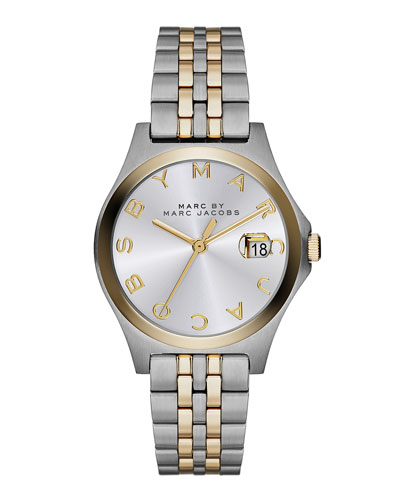 30mm The Slim Two-Tone Watch with Bracelet