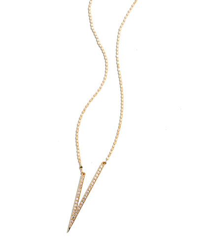 Fatale Necklace with Diamonds