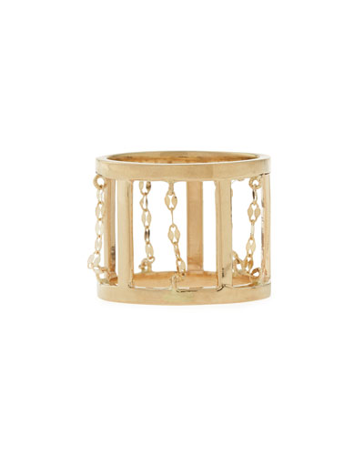 Dash 14-Karat Gold Ring
