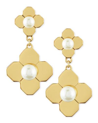Golden Babylon Drop Earrings
