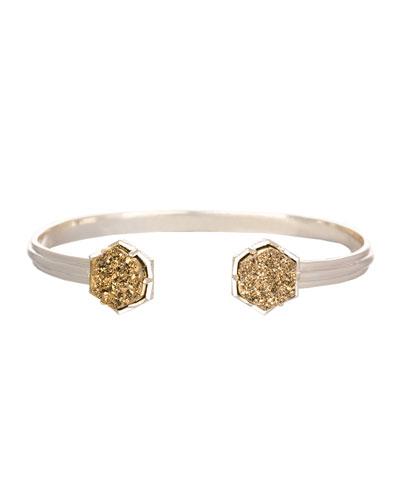 Arden Bracelet with Bronze Druzy Tips
