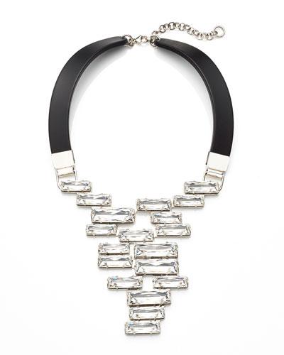 Swarovski?? Crystal Drop Cluster Necklace