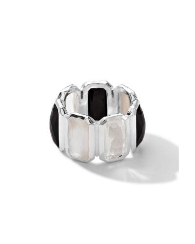 Sterling Silver Wonderland Brick Ring in Astaire