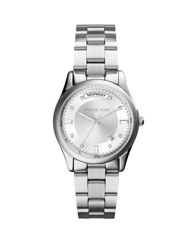 Colette Silver Stainless Steel Watch