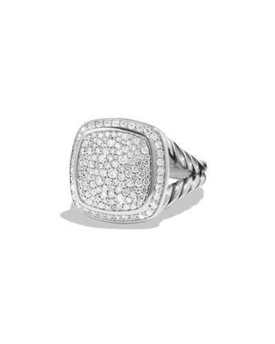 Albion Ring with Diamonds, Size 7
