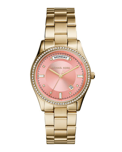 Colette Golden Stainless Steel Watch