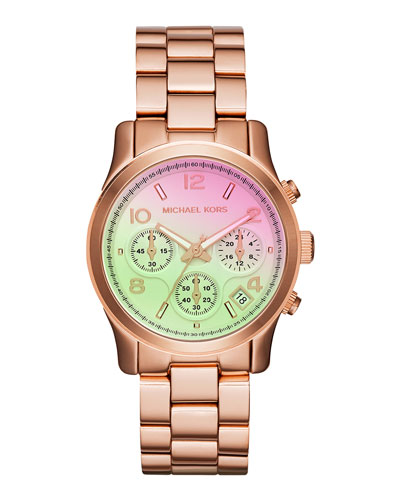 38mm Runway Rose Golden Watch