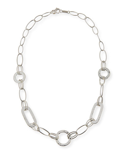 "925 Glamazon Link Necklace, 20""L"
