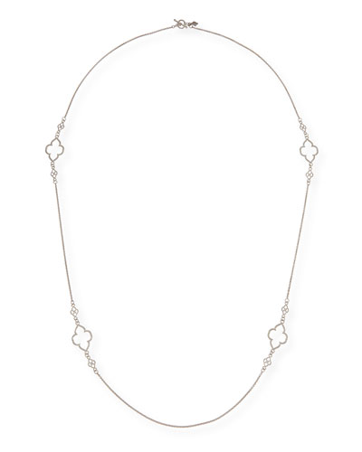 New World Scroll Station Necklace, 36""