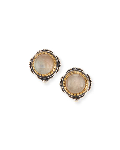 Erato Labradorite Stud Earrings