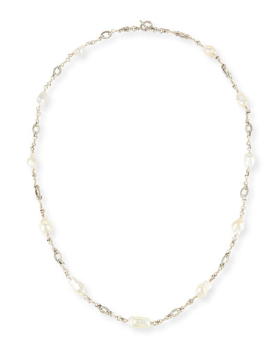 Baroque Pearl Necklace, 35